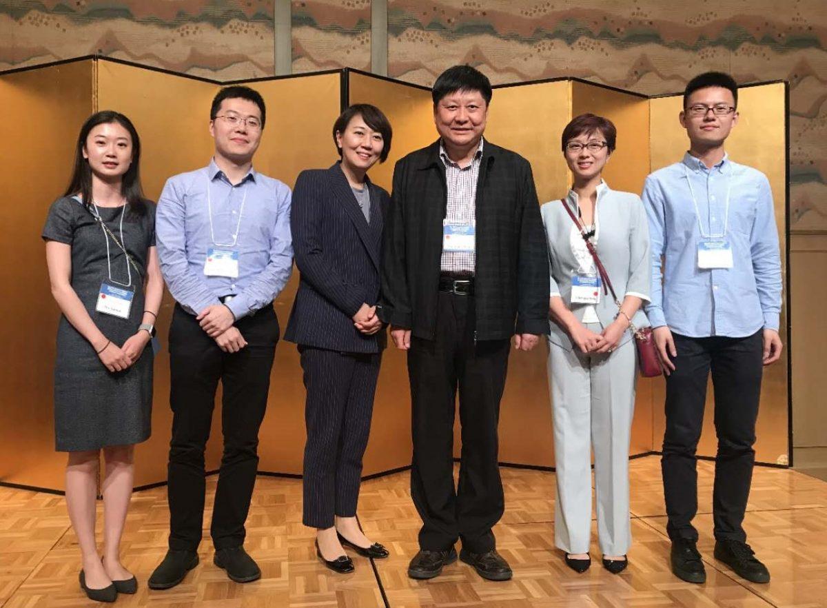 UW-Madison Chinese language team at Kobe, Japan