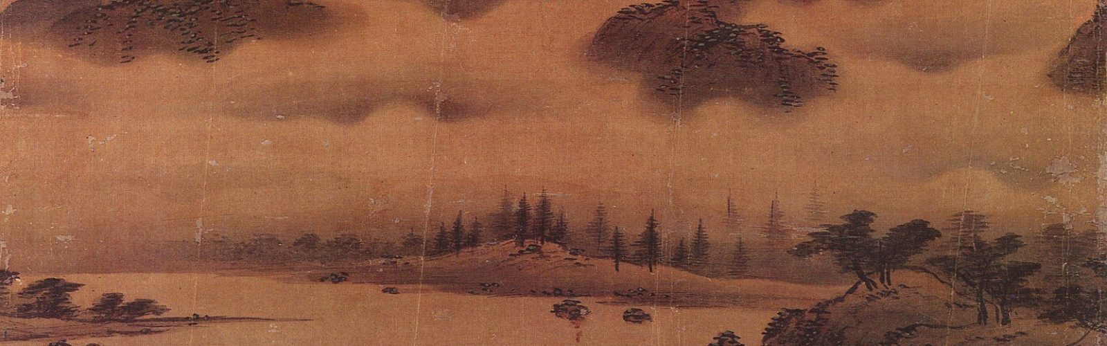 Korean landscape painting